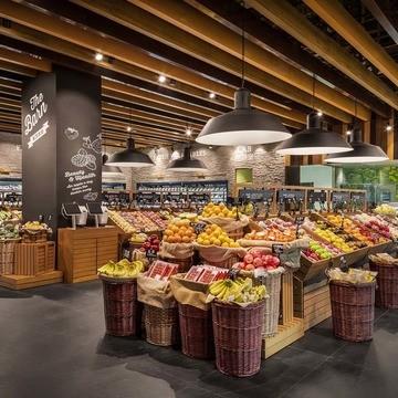 Продуктовые магазины и супермаркеты
